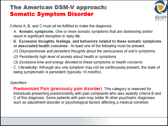 Rief Presentation ICD-11 Pain